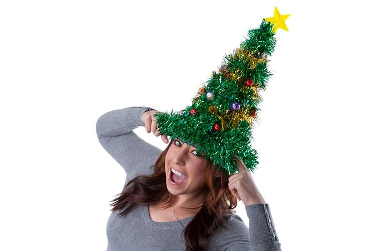 Help! Mijn hoofd is een kerstboom!